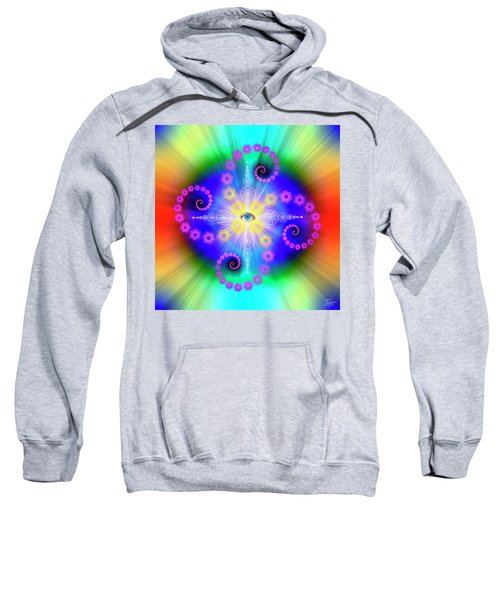 Sacred Geometry 653 Sweatshirt