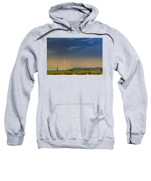 Saguaro With Lightning Sweatshirt
