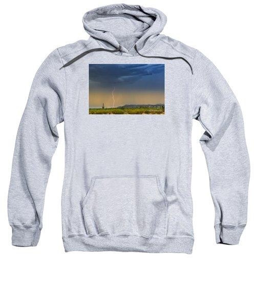 Saguaro With Lightning Sweatshirt