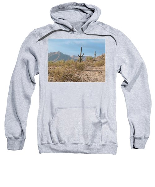 Saguaros On A Hillside Sweatshirt
