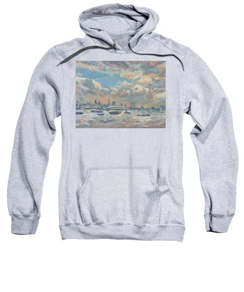 Sail Regatta On The Ij Sweatshirt