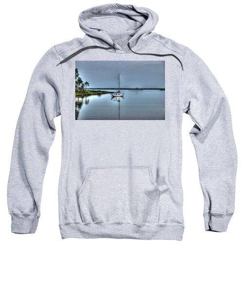 Sailboat Off Plash Sweatshirt