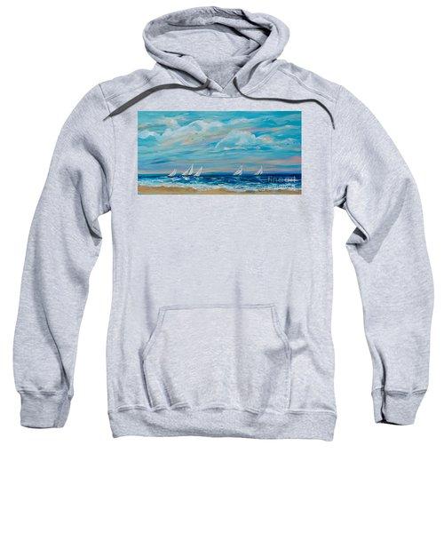 Sailing Close To The Shore Sweatshirt