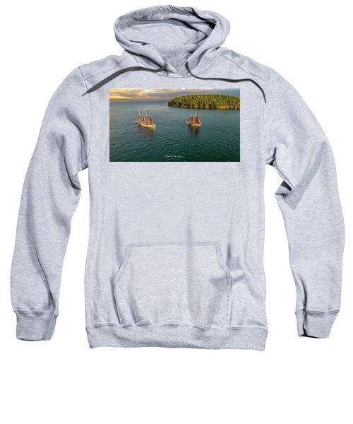 Sailing Frenchman Bay Sweatshirt