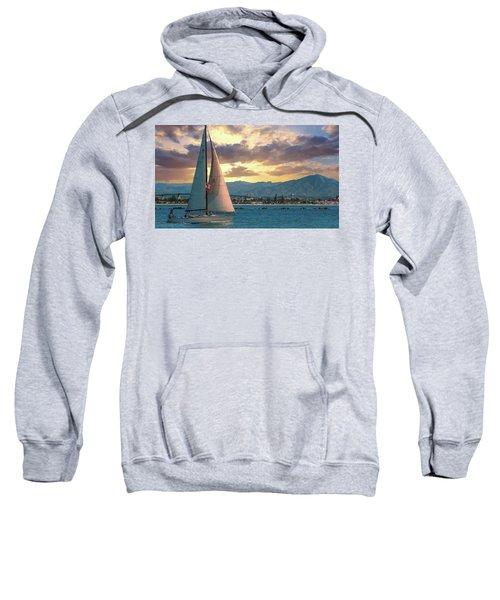 Sailing In San Diego Sweatshirt