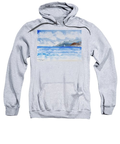 Sailing Into Moorea Sweatshirt