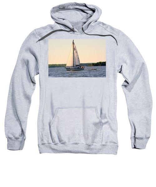 Sailing On Lake Murray Sc Sweatshirt