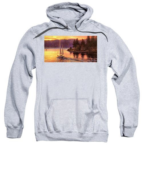 Sailing On The Sound Sweatshirt