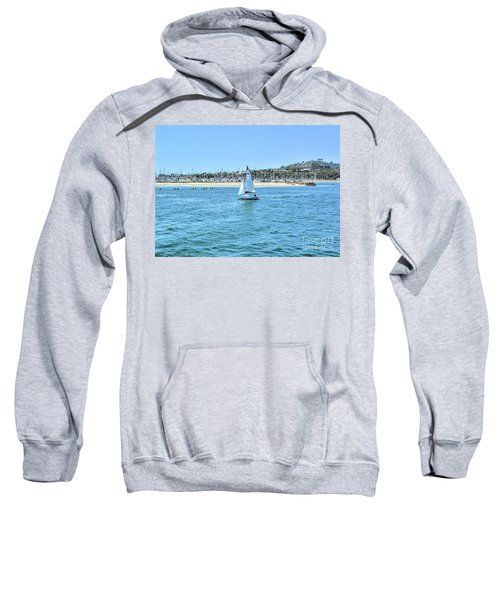 Sailing Out Of The Harbor Sweatshirt