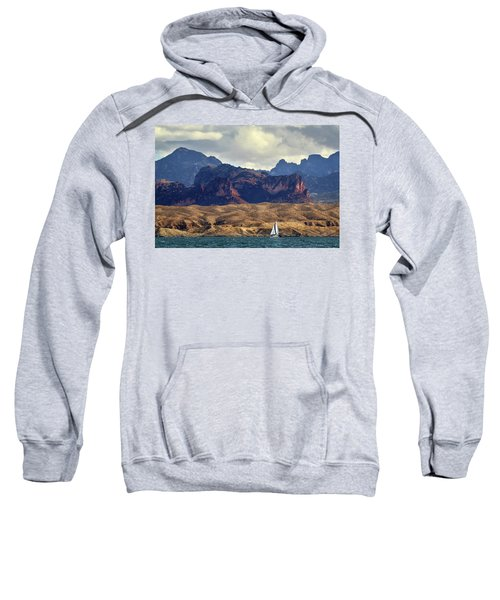 Sailing Past The Sleeping Dragon Sweatshirt
