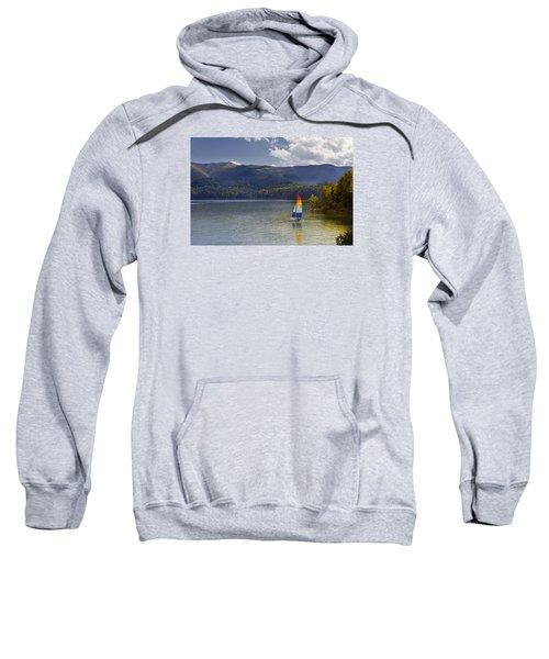 Sailing The Mountain Lakes Sweatshirt