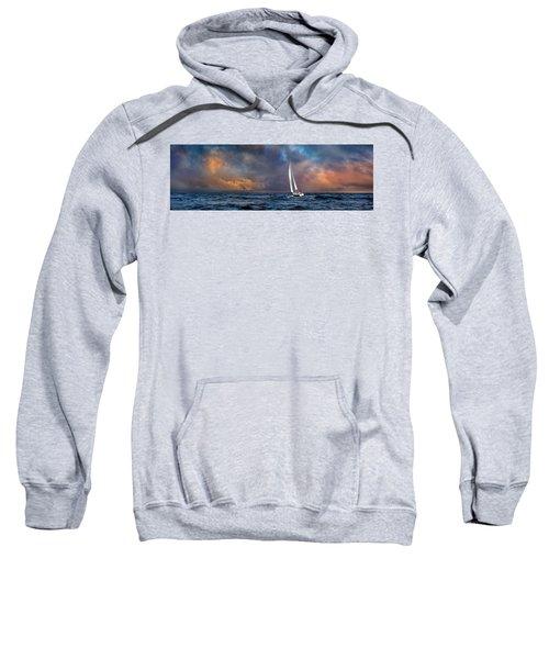 Sailing The Wine Dark Sea Sweatshirt