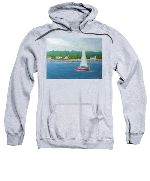 Sailing To New Harbor Sweatshirt