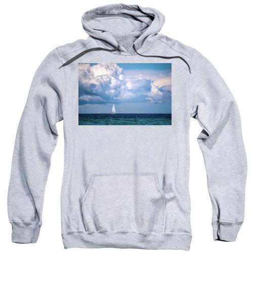 Sailing Under The Clouds Sweatshirt