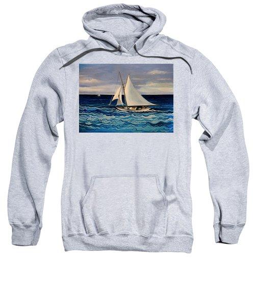 Sailing With The Waves Sweatshirt