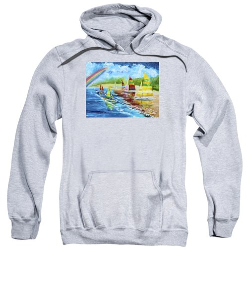 Sails On The Beach Sweatshirt