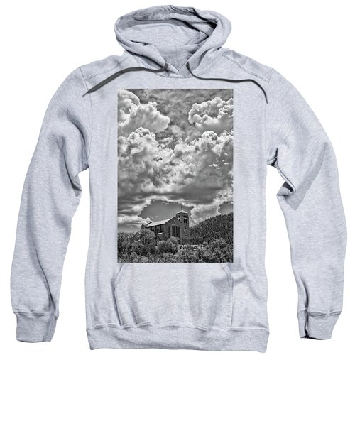 Saint Joseph Apache Mission, Mescalero, New Mexico, June 10, 201 Sweatshirt