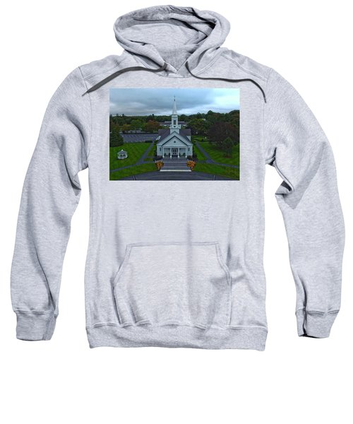 Saint Mary's Church From Above Sweatshirt