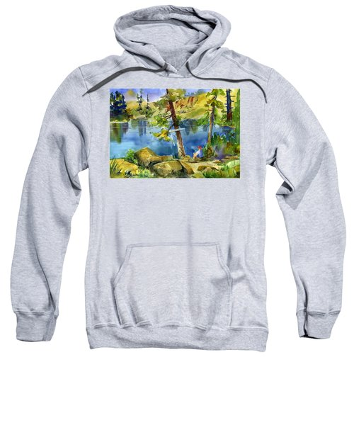 Salmon Lake Fisherman Sweatshirt