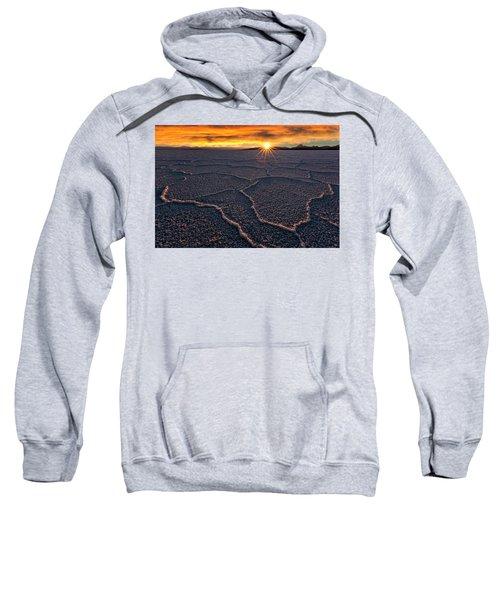 Salt Flats Sunset Sweatshirt