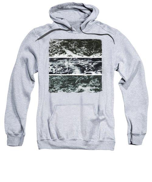 Saltwater Triptych Variation 3 Sweatshirt