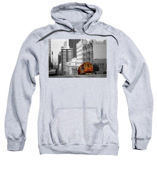 San Francisco Cable Car - Highlight Photo Sweatshirt