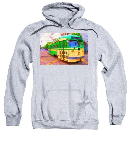 San Francisco F-line Trolley Sweatshirt