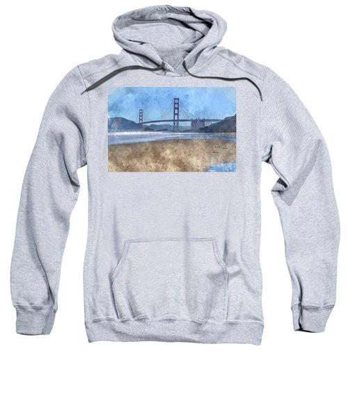 San Francisco Golden Gate Bridge In California Sweatshirt