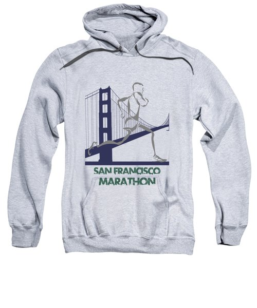 San Francisco Marathon2 Sweatshirt by Joe Hamilton