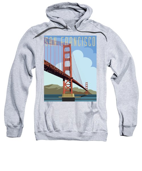San Francisco Poster  Sweatshirt