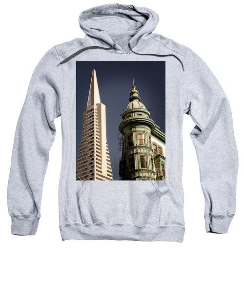 San Francisco Then And Now Sweatshirt