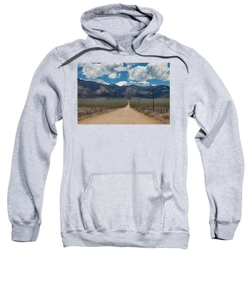 San Luis Valley Back Road Cruising Sweatshirt by James BO Insogna