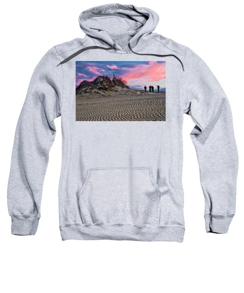 Sand Dunes Of Kitty Hawk Sweatshirt