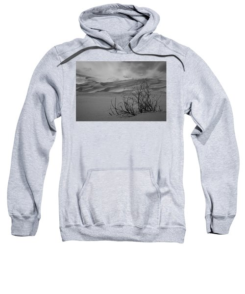 Sweatshirt featuring the photograph Sand Dunes by Stephen Holst