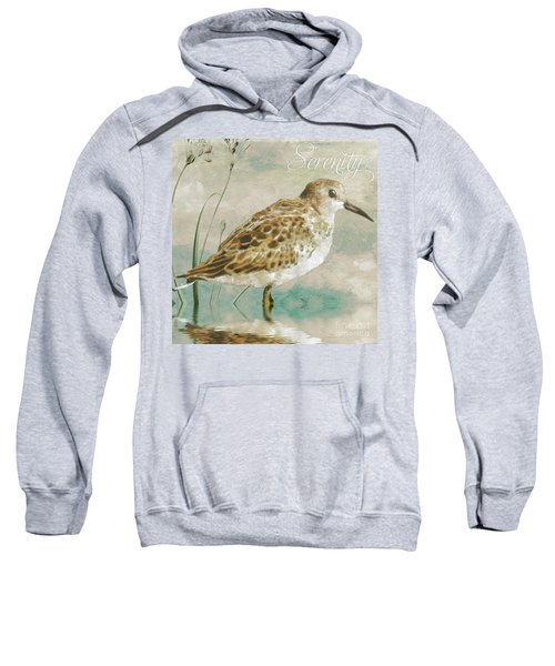 Sandpiper I Sweatshirt by Mindy Sommers