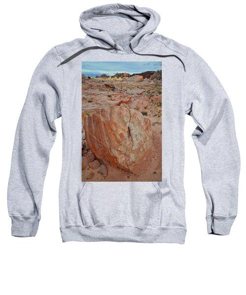 Sandstone Shield In Valley Of Fire Sweatshirt