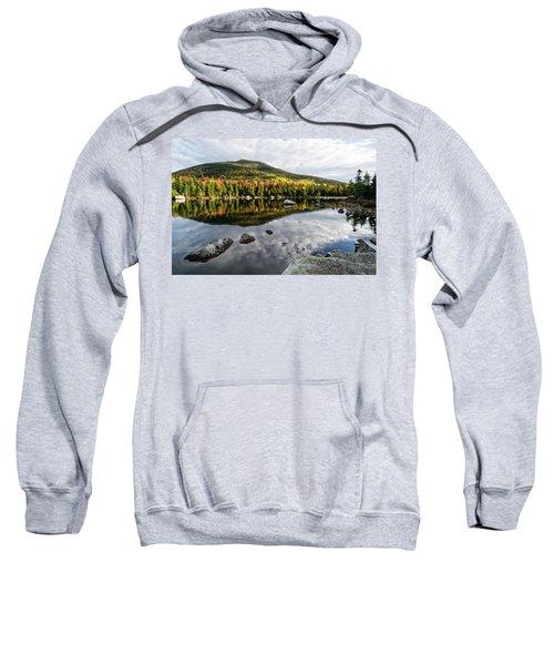 Reflection Sandy Stream Pond Me. Sweatshirt
