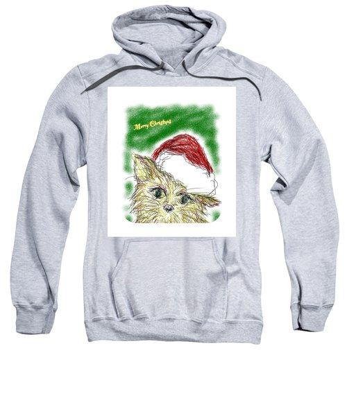 Santa Cat Sweatshirt