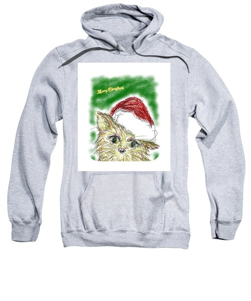 Santa Cat Sweatshirt
