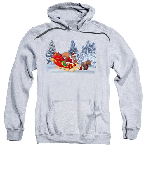 Santa's Little Helper Sweatshirt by Glenn Holbrook