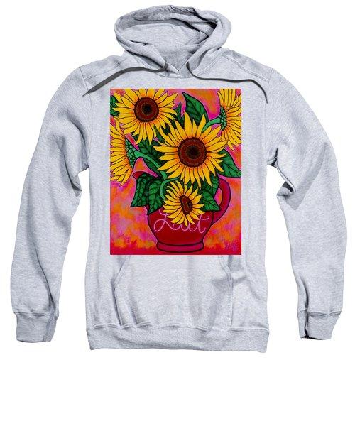 Saturday Morning Sunflowers Sweatshirt