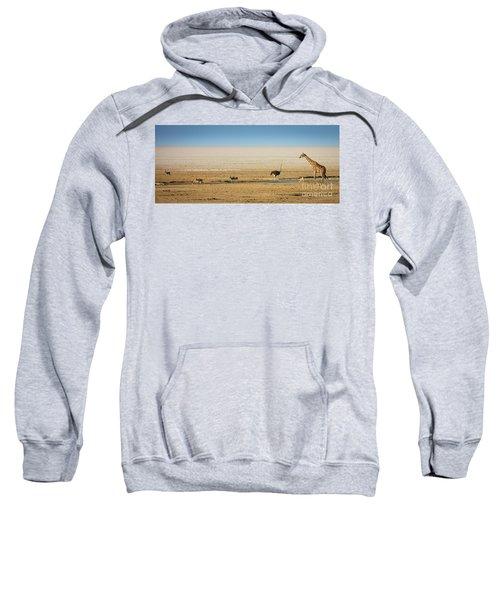 Savanna Life Sweatshirt by Inge Johnsson
