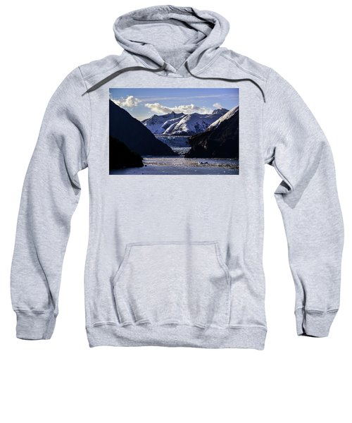 Sawyer Glacier In Tracy Arm Fjord Sweatshirt