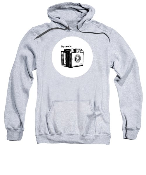 Say Cheese Old Film Camera Round Circle Blanket Towel Sweatshirt
