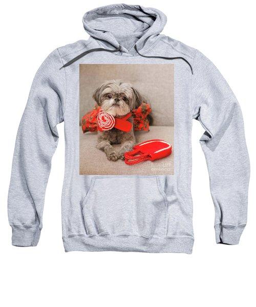 Scarlett And Red Purse Sweatshirt