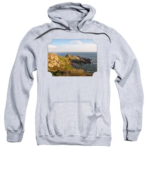 Scenic Coastline At Corbiere Sweatshirt
