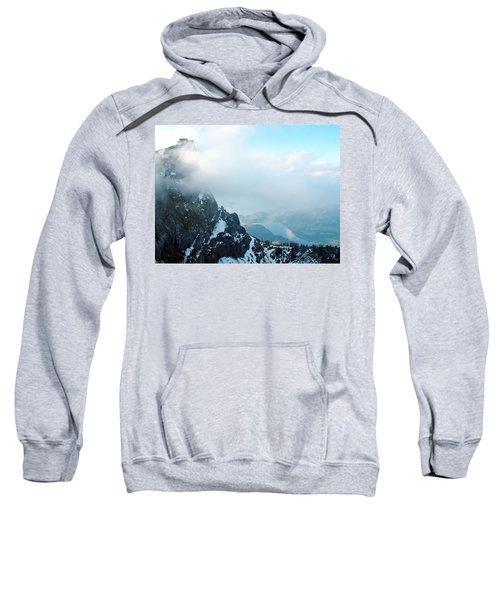 Schafberg Cliff Face Sweatshirt