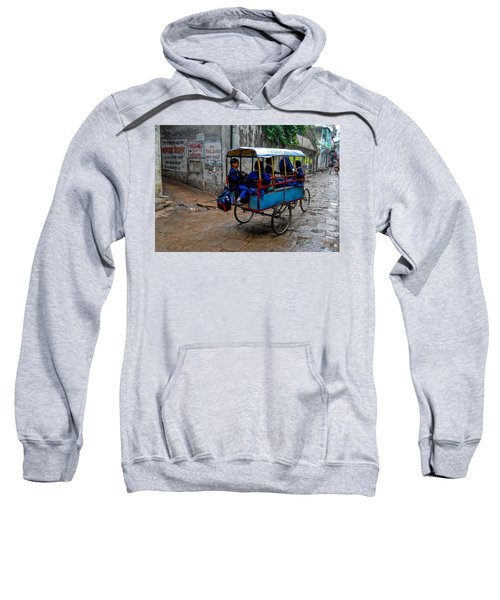 School Cart Sweatshirt