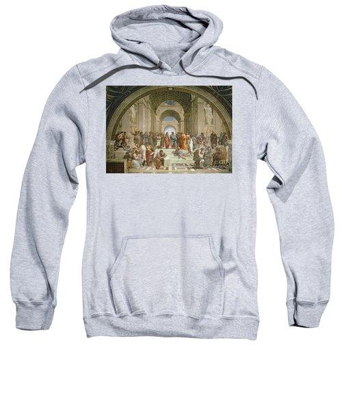 School Of Athens From The Stanza Della Segnatura Sweatshirt