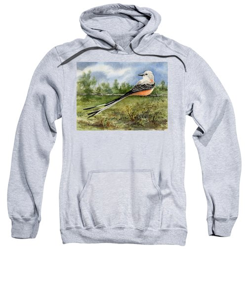 Scissor-tail Flycatcher Sweatshirt by Sam Sidders